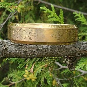 Vintage deco gold filled bracelet